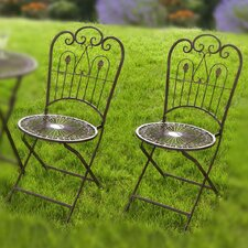 Provence Folding Dining Side Chair (Set of 2)