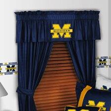 "NCAA 88"" Michigan Wolverines Curtain Valance"