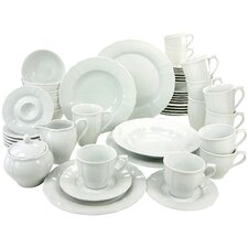 Flora 50 Piece Dinnerware Set, Service for 6