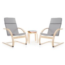 Kiddie Rocker 3 Piece Table and Chairs Set