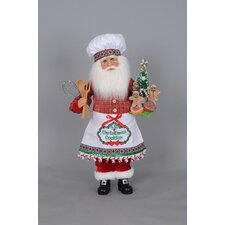 Christmas Cookies Santa Figurine