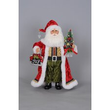 Christmas Joy Santa Figurine
