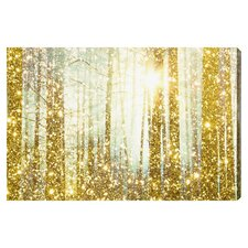 'Magical Forest' Framed Graphic Art Print on Wrapped Canvas
