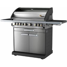 Icon 6-Burner Propane Gas Grill with Side Burner
