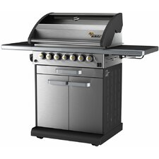 Icon 4-Burner Propane Gas Grill with Side Burner