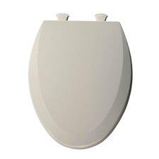 Lift-Off Wood Elongated Toilet Seat