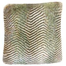 Deloris Chevron Faux Fur Bedding Sham