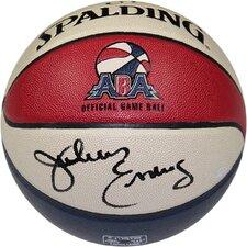 Julius Erving Signed ABA Basketball