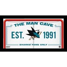 Man Cave Framed Graphic Art