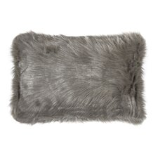 Gaetane Faux Fur Lumbar Pillow