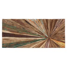 Wood Abstract Wall Décor