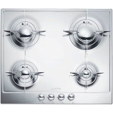 """Piano 24"""" Gas Cooktop with 4 Burners"""