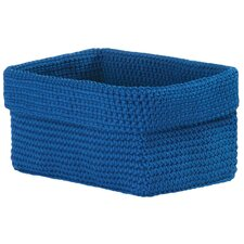 Modé Crochet Rectangle Basket