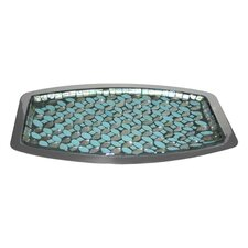 Sea Foam Amenity Bathroom Accessory Tray