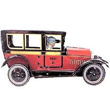 Collectible Decorative Tin Toy Taxi Car