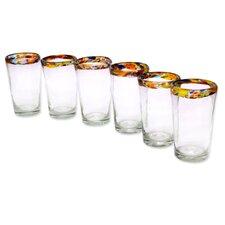 Handcrafted Blown Glass Highball Glass (Set of 6)