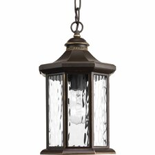 Edition 1-Light Outdoor Hanging Lantern