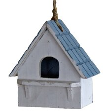 Tiled Roof Hanging Bird House