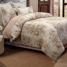 Belle Jour 3 Piece Duvet Cover Set