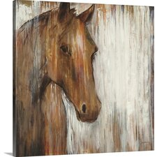 'Painted Pony' by Liz Jardine Painting Print on Canvas