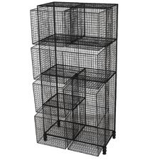 "Yannick 50"" H Three Shelf Storage Drawer"