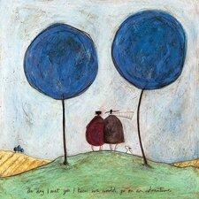 Leinwandbild The Day I Met You von Sam Toft