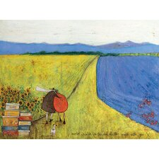 "Leinwandbild ""I Would Walk to the End of the World with You"" von Sam Toft, Kunstdruck"