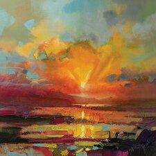 Scott Naismith - Optimism Sunrise Study Canvas Wall Art