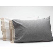 Crochet Trimmed Pillowcase (Set of 2)