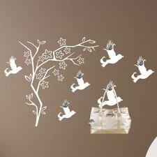 Garderobenhaken Baum, Vogel