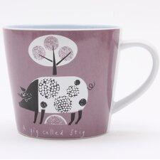 Scandinavian Pig Mug by Jane Ormes (Set of 6)