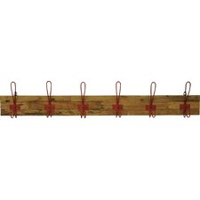 Alton 6 Hook Wall Mounted Coat Rack