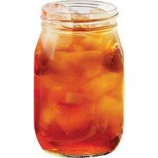 Summertime 16 oz. Mason Jar (Set of 6)