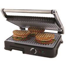 Extra Large DuraCeramic Panini Maker and Indoor Grill