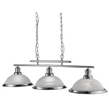 Bistro 3-Light Kitchen Island Pendant