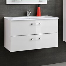 Adel 80cm Wall Mounted Vanity Unit