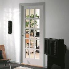 15 Panel White Glazed Internal Door