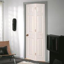 Bostonian 6 Panel White Woodgrain Bi-Fold Internal Door