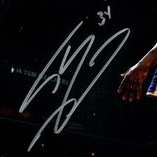 Shaquille O'Neal Signed Lakers Dunk Photographic Print