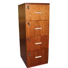 Attractive 4-Drawer Vertical Filing Cabinet
