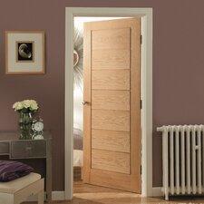 Oregon 7 Panel White Oak Veneer Internal Door