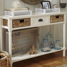 Deepwater 1 Drawer Console Table  by Breakwater Bay