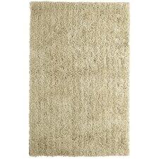 Soft Shag Sand Beige Area Rug