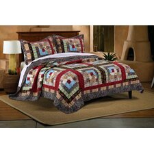 Colorado Lodge Reversible Quilt Set