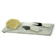3 Piece Small Bites Cheese Tray Set
