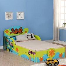 Scooby Doo Kid's Twin Platform Bed with Storage