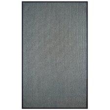 Marica Synthetic Sisal Charcoal Area Rug