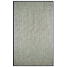 Marica Synthetic Sisal Gray Area Rug