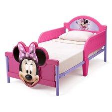 Bett Minnie Maus mit abnehmbaren Geländern, 77 cm x 145 cm