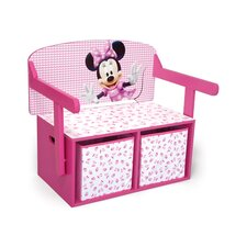 Minnie Toy Storage Bench